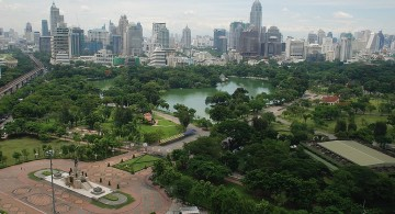 Парк люмпини в Тайланде