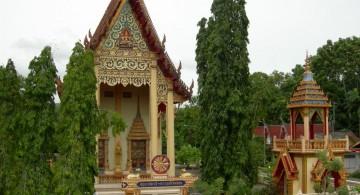 острова Тайланда, храмы