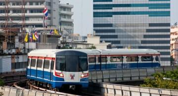метро, автобусы и тук туки в Бангкоке