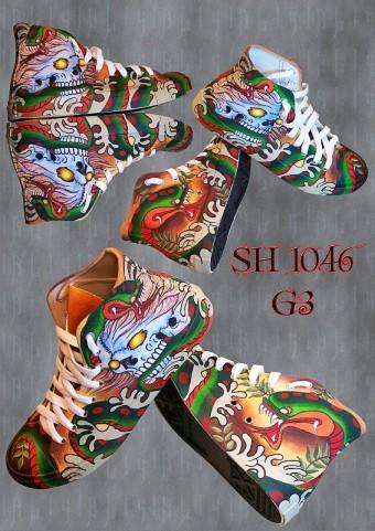 Альтернативная обувь, кеды оптом, эксклюзивная готическая панк рок одежда оптом из Таиланда