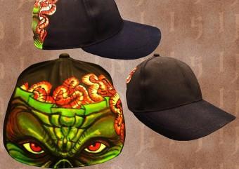 Альтернативные бейсболки оптом, эксклюзивная готическая панк рок одежда оптом из Таиланда