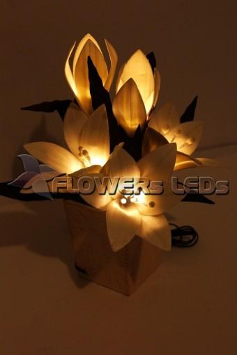 Светодиодные декоративные цветы FLOWERSLEDS оптом из Тайланда, букеты света оптом, ЦВЕТЫ НОЧНИКИ LED ОПТОМ ИЗ ТАИЛАНДА