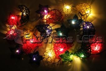 Светодиодные декоративные гирлянды FLOWERSLEDS оптом из Тайланда, РОТАНГОВЫЕ ШАРЫ СЕРДЦА СТОЛБЫ СВЕТА ОПТОМ, ГИРЛЯНДЫ НОЧНИКИ LED ОПТОМ ИЗ ТАИЛАНДА