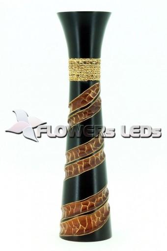 Декоративные резные и расписные вазы оптом из Тайланда