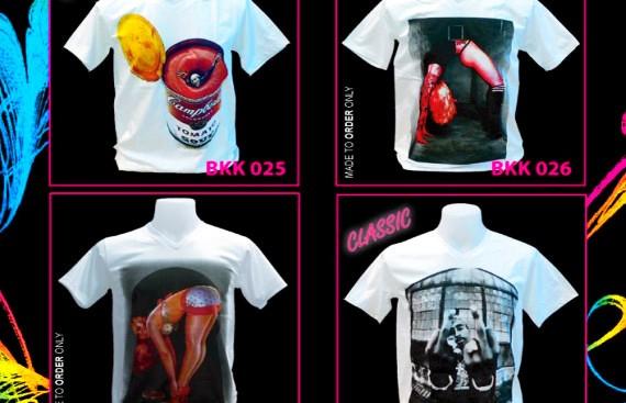Мужские и женские футболки raw uncut оптом из тайланда